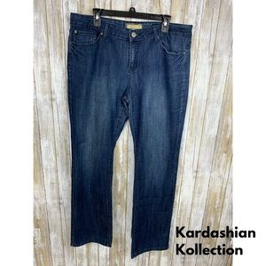 Kardashian Kollection 'The Kim' Bootcut Jeans